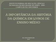 INSTITUTO FEDERAL DE EDUCAÇÃO, CIÊNCIA E ... - abq