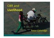 CBR and Livelihood - bezev eV