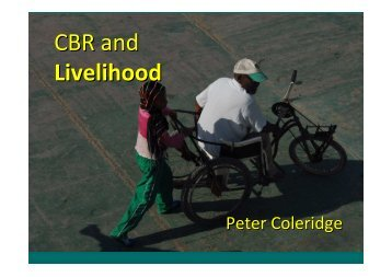 CBR and Livelihood - bezev eV