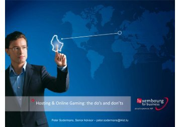 Hosting & Online Gaming: the do's and don'ts - WorldHostingDays