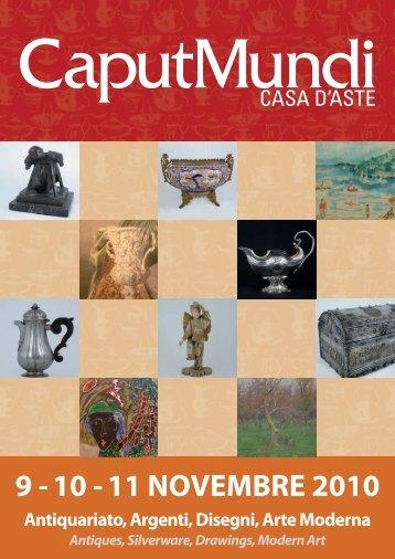 9 - 10 - 11 NOVEMBRE 2010 - CaputMundi