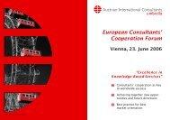 European Consultants' Cooperation Forum