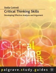 Critical Thinking Skills - Developing Effective Analysis and Argument(2)