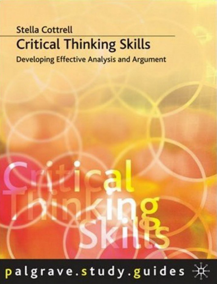 teaching and assessing critical thinking skills for argument analysis in psychology 2012-7-16  essays of freshman college students: a descriptive analysis eden regala-flores de la salle university-manila, philippines  teaching critical thinking or higher-order  directed, self-disciplined, self-monitored, and self-corrective way of thinking among students thus, the demand to teach critical thinking skills or higher-order thinking.