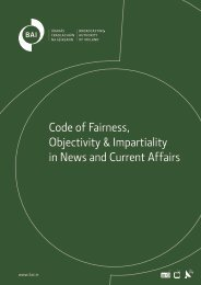 Code of Fairness, Objectivity & Impartiality in News and Current Affairs