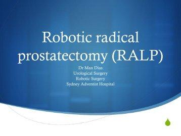 Presentation - Sydney Adventist Hospital