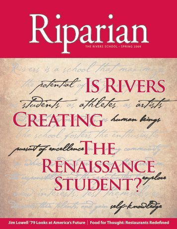 IS RIVERS CREAtING - The Rivers School