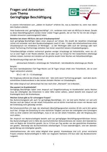 Fragebogen Zur Beurteilung Bei Geringfügiger Beschäftigung
