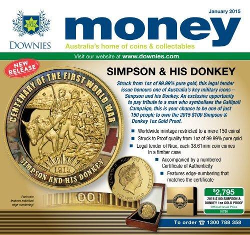 2015 $5 Coloured Distinctly Australian Coin