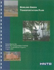 BOWLING GREEN TRANSPORTATION PLAN - City of Bowling ...