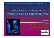 Adicciones nuevas tecnologías (AIS)