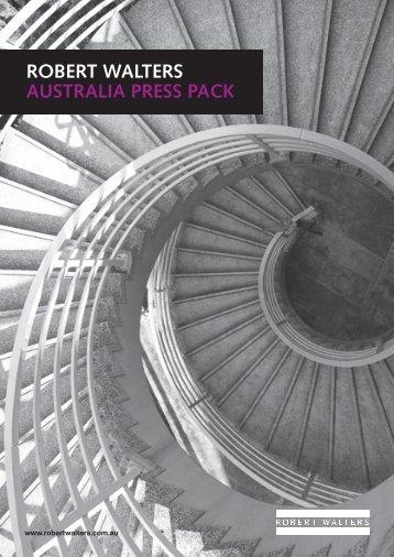 ROBERT WALTERS AUSTRALIA PRESS PACK