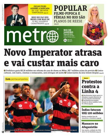 jornal Metro Rio