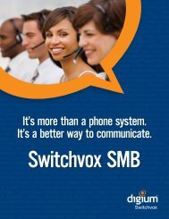 Switchvox R4.5 SMB - Starnet Data Design, Inc