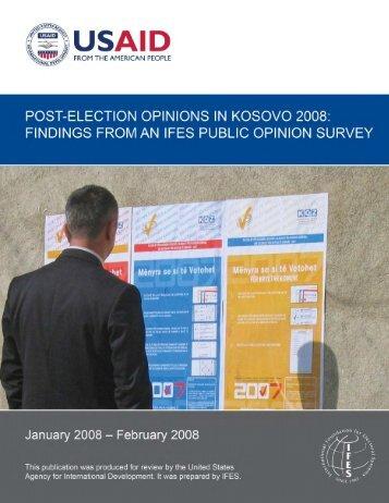 Survey - IFES