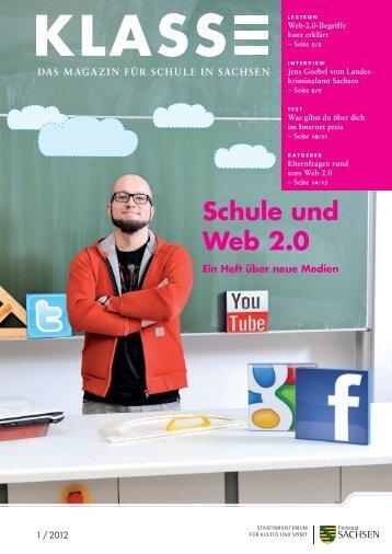 Schule und Web 2.0 - Sächsisches Staatsministerium für Kultus