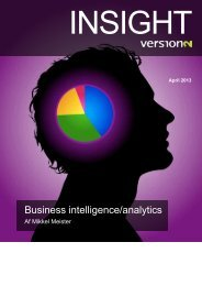 Business intelligence/analytics - Affecto