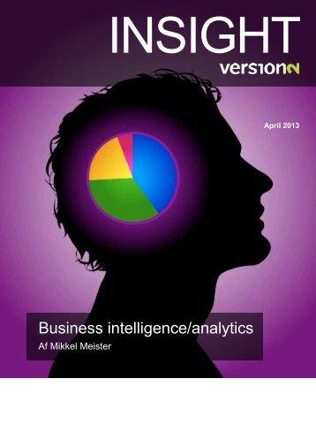 Business intelligence/analytics - Affecto