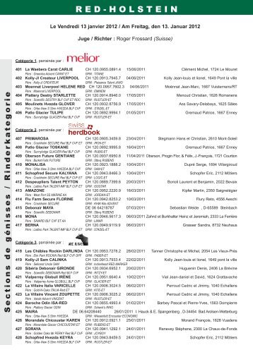 catalogue Red-holstein - Web-agri