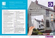 to view event brochure - Chartered Institute of Housing