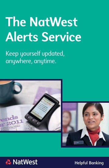The NatWest Alerts Service