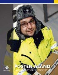 Verksamhetsberättelse 2012 - Posten Åland
