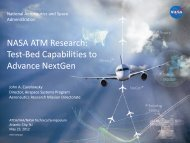 NASA ATM Research - Air Traffic Control Association