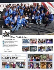 SROW Edition - University of New Orleans