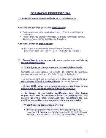 FORMAÇÃO PROFISSIONAL - VectWeb SM