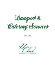 Banquet & Catering Services 2012-09 FINAL - University Club of ...