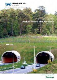 Highways Agency Annual Report and Accounts 2011-2012