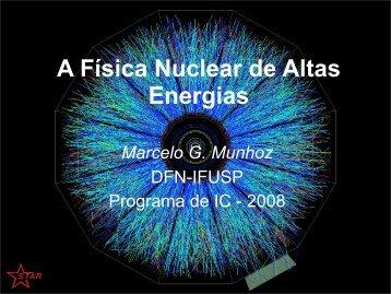Seminário 15 - Departamento de Física Nuclear - USP