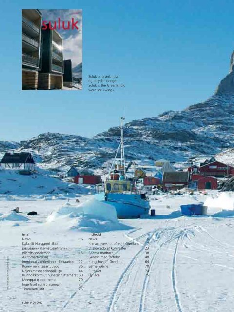 SULUK 1-20 - Agent Kit Survey - Air Greenland