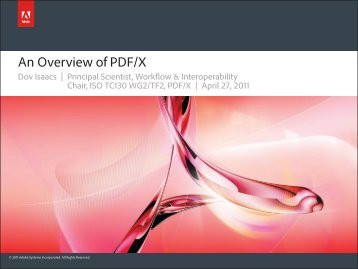 PDF/X Overview
