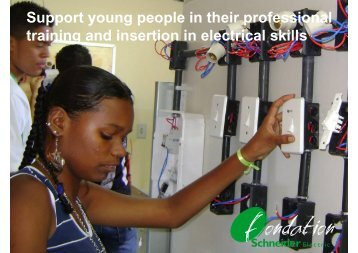 Support young people in their professional ... - Schneider Electric