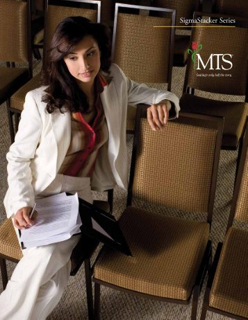 SigmaStacker Series - MTS Seating