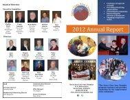 2012 Annual Report - Sierra Vista Chamber of Commerce