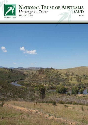 Heritage in Trust - November 2011 - National Trust of Australia