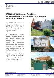 Gebäude- Siedlungswasserwirtschaft 11/2004 - marbeton GmbH