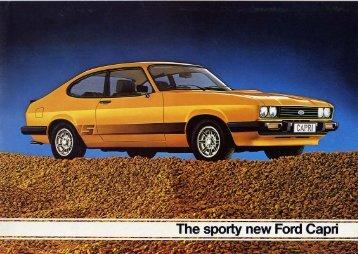 Ford Capri III - Wielka Brytania - 1978 - Capri.pl