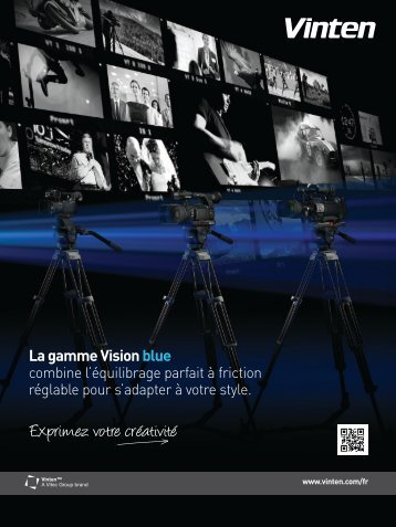 Vision Blue range of camera support systems - French - Vinten