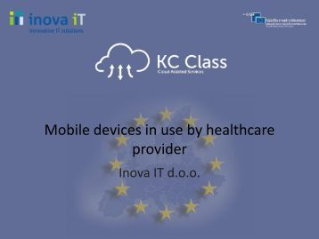 Mobile devices in - Cloud Assisted Services