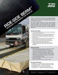 RIDE-SIDE BERM - SEI Industries Ltd.