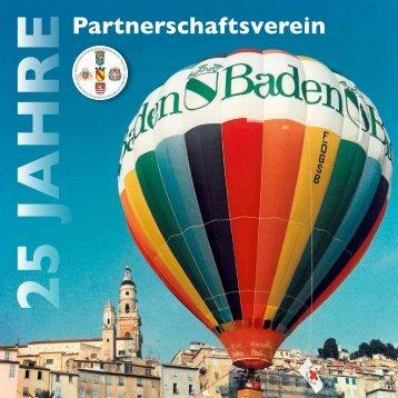 Chronik des Partnerschaftsvereins, veröffentlicht zum Jubiläum