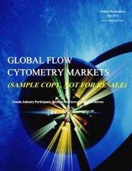 GLOBAL FLOW CYTOMETRY MARKETS - SPI Information
