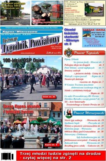 Wieruszów! - Tygodnik powiatowy