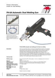 PH-6A Automatic Stud Welding Gun - Soyer
