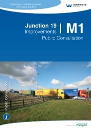 M1 Junction 19 Improvements - Highways Agency