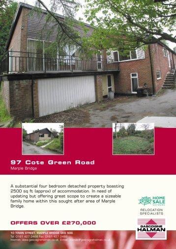 97 Cote Green Road
