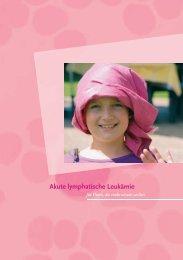 Akute lymphatische Leukämie - Österreichische Kinder-Krebs-Hilfe